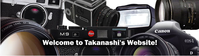 Welcome to Takanashi's Website!